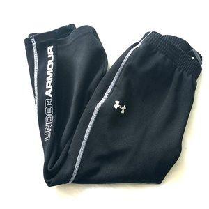 4T little boys Under Armour athletic pants black